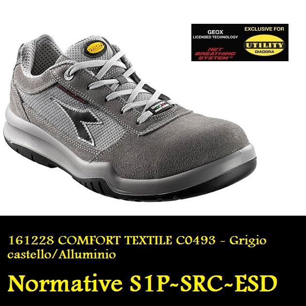Diadora Comfort Textile S1P ESD SRC Taglia 37 Scarpe antinfortunistiche