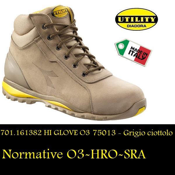 Diadora Lavoro Glove Senza 161382 Hi Colore Puntale Scarpa Alta 03 UGVqSzMp