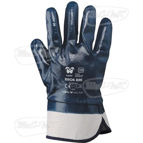 Guanto in tessuto jersey di cotone impregnato in NBR Guanti lavoro Brok 800  Boxer 353047 b8183689fd88