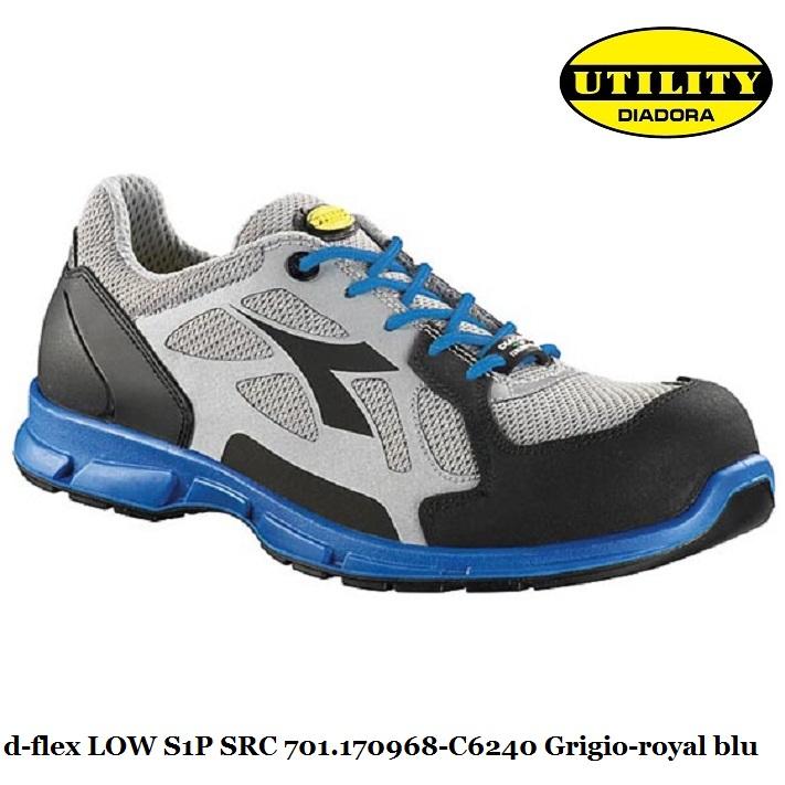 Scarpe antinfortunistica calzatura di sicurezza bassa D-FLEX LOW utility  Diadora S1P SRC  ebba2454b73