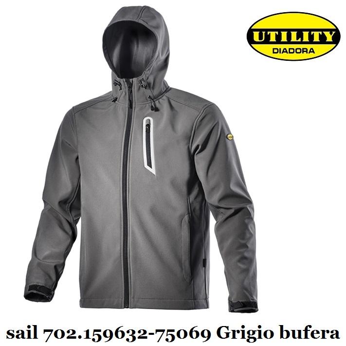 Giacca SOFTSHELL SAIL Utility Diadora  0dd2365f1a3