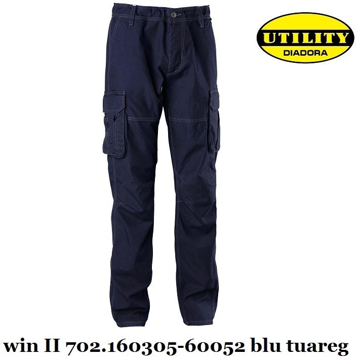 Pantalone cargo estivo WIN II utility Diadora  14ad253b02d