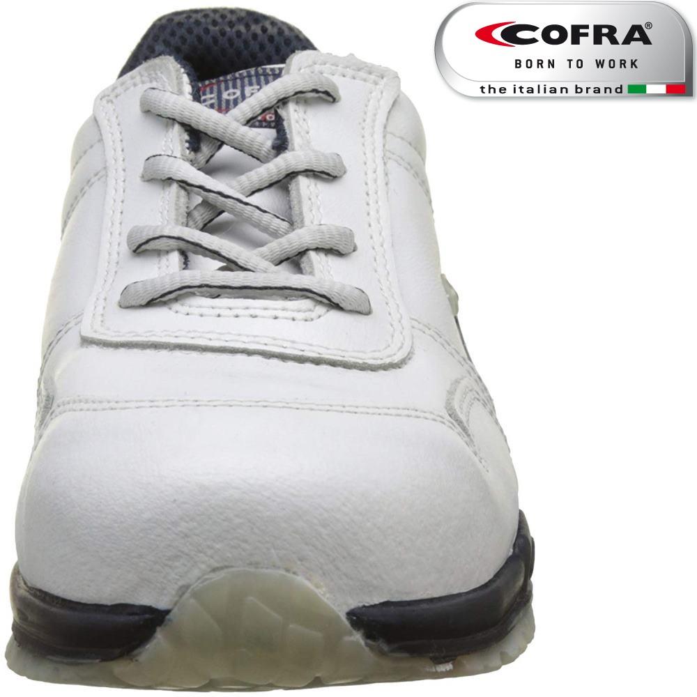 Scarpa antinfortunistica Cofra NUVOLARI S3 SRC scarpe lavoro pelle idrorepellente linea RUNNING
