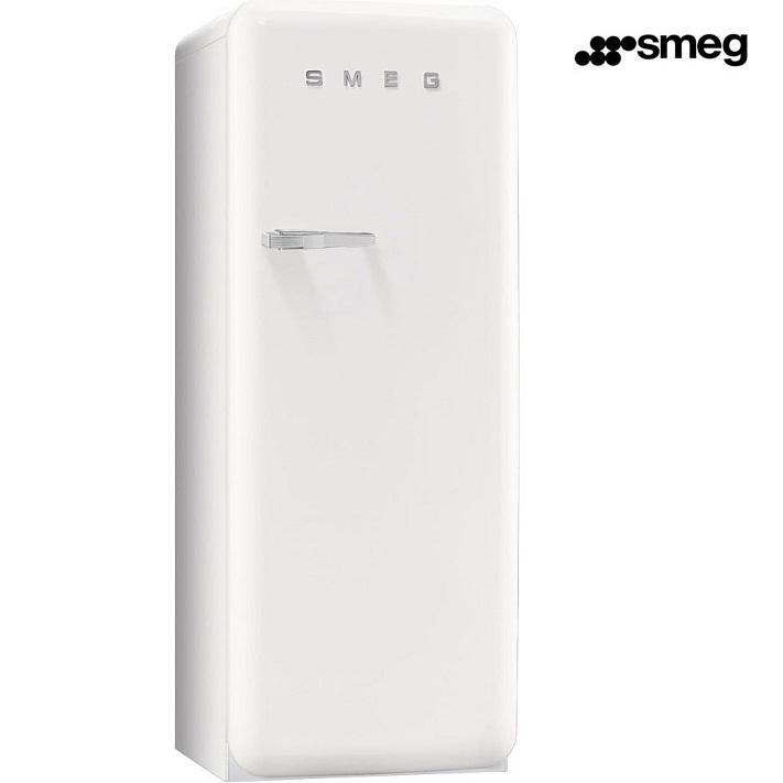 Smeg frigorifero monoporta con congelatore fab28rb1 ventilato 256lt anni 50 39 bianco - Frigorifero monoporta senza congelatore ...