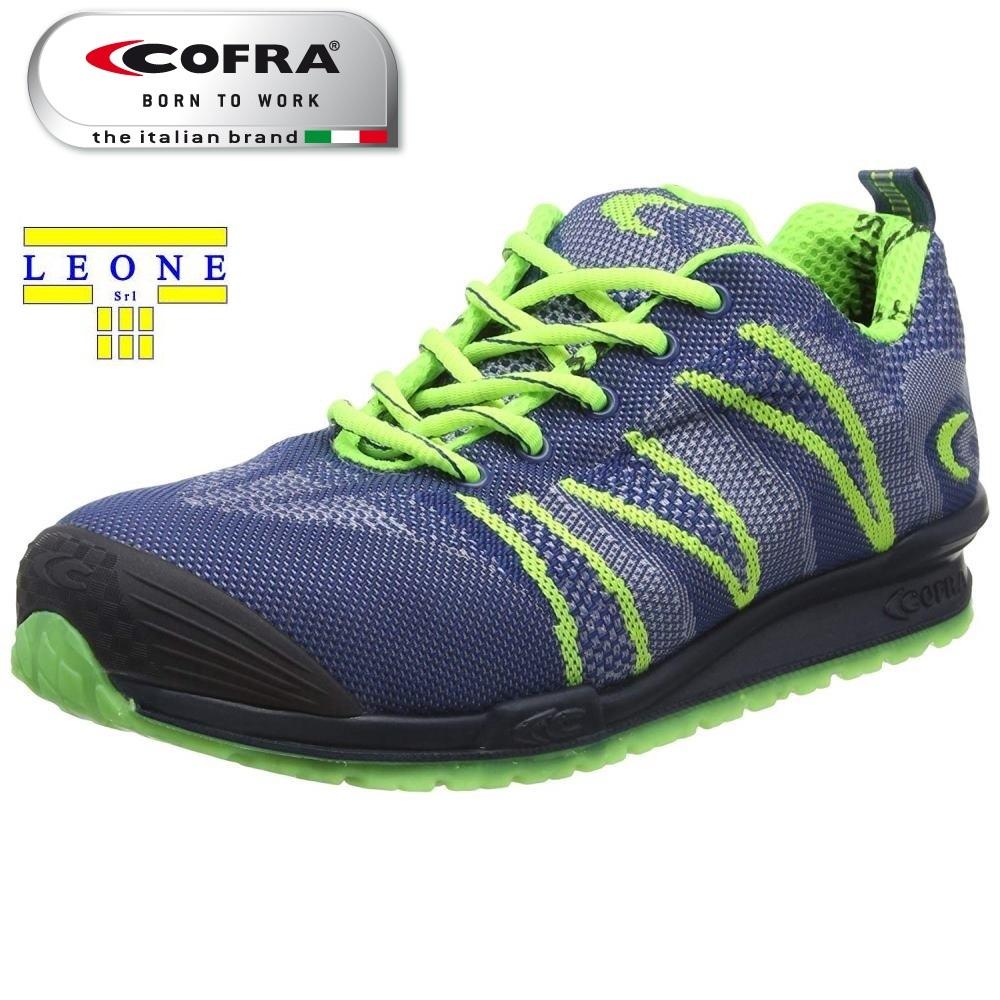Scarpe Antinfortunistiche COFRA linea RUNNING modello FLUENT S1 P SRC scarpe lavoro traspiranti 78800 001