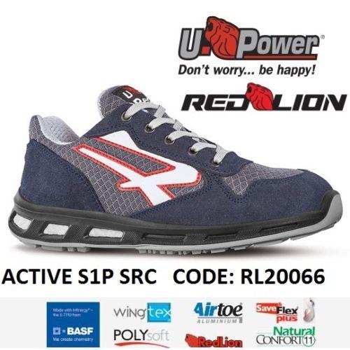 Scarpe Antinfortunistiche da Lavoro U-Power ACTIVE S1P SRC RL20066