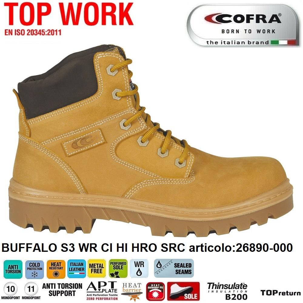 Cofra Scarpe Antinfortunistiche Buffalo S3