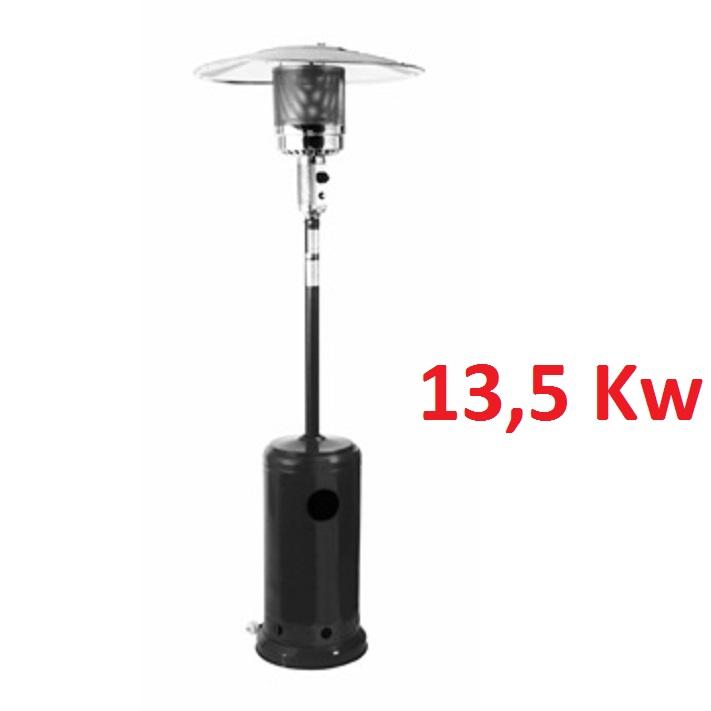 Stufa a gas 13 5 kw a ombrello zante per esterni fungo for Stufa a gas brico