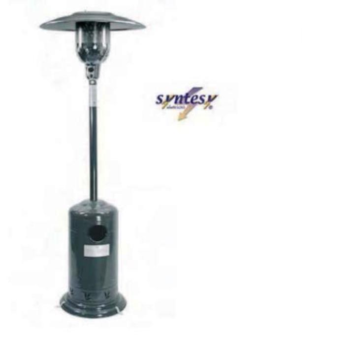 Stufa a gas 11 kw a ombrello termico per esterni fungo a - Stufe a gas per riscaldamento ...