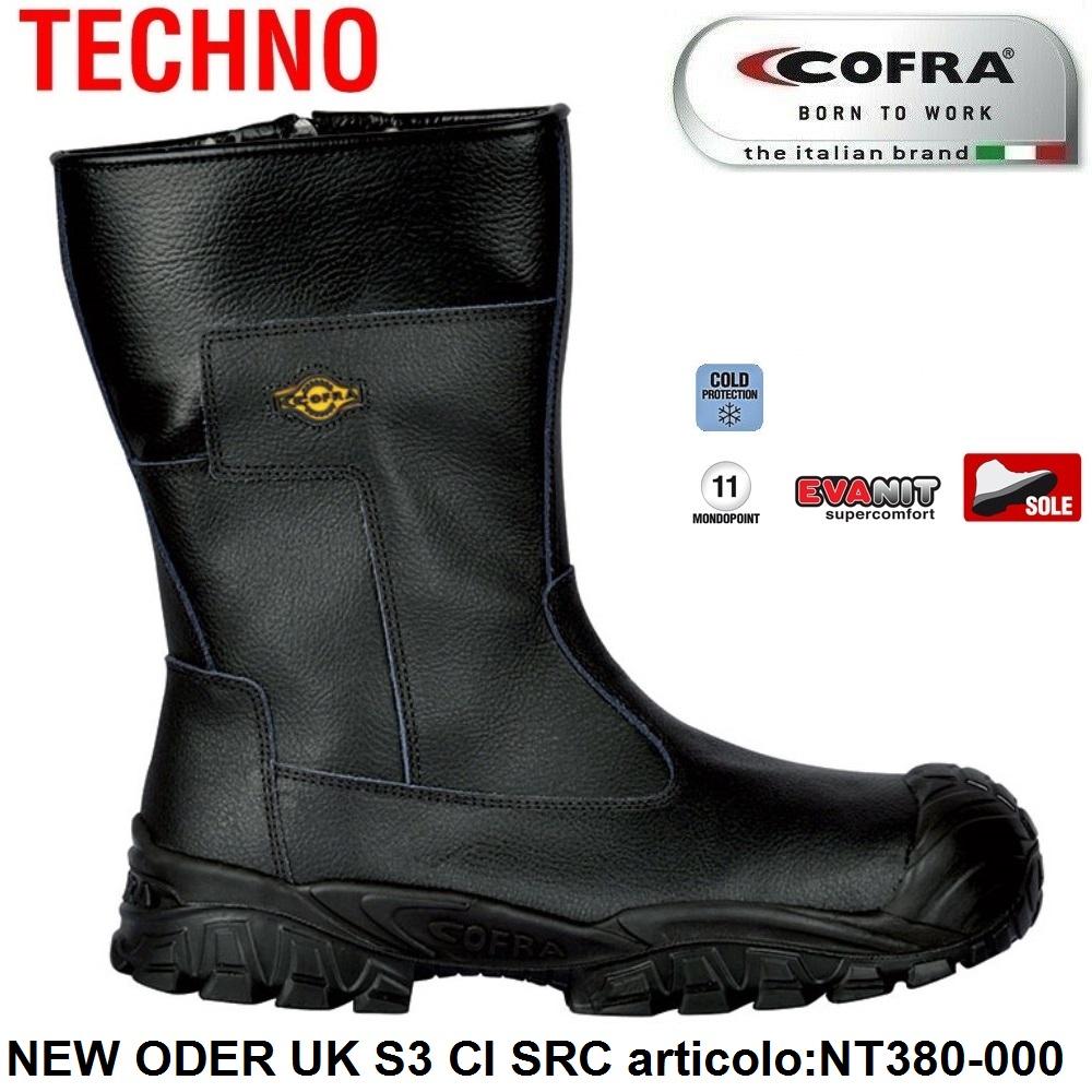 Cofra Scarpe Antinfortunistiche New Tago UK S3
