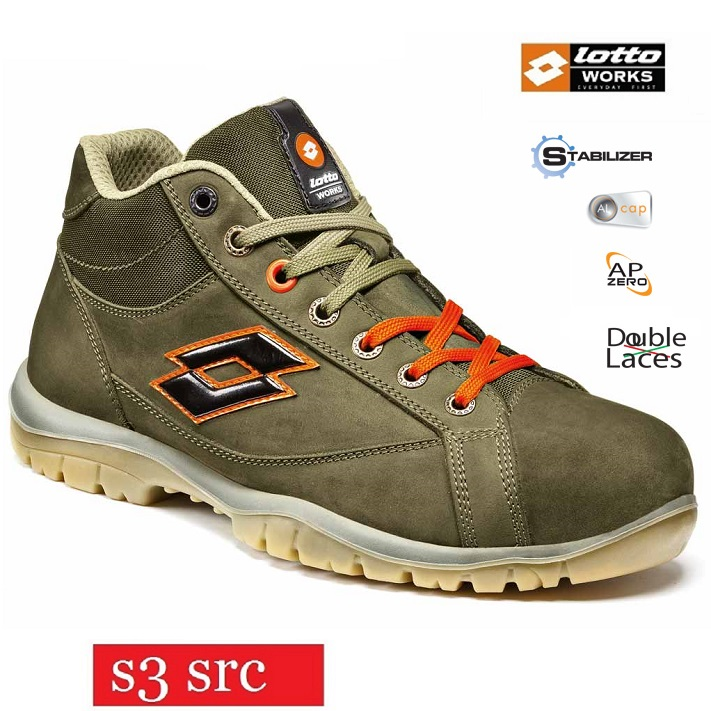 S3 Night Olive Works Lotto Q8517 Jump Calzature Alte Scarpe Src 900 Mid Orange Antinfortunistiche Impermeabili Colore Rq0BTcKwF4