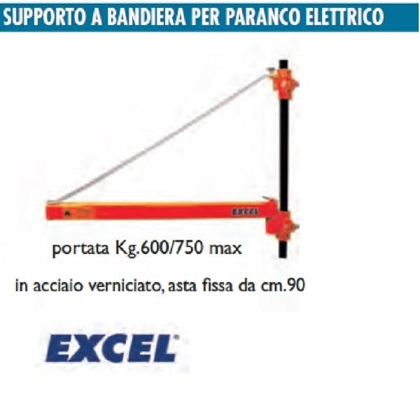 Supporto a bandiera per paranco elettrico excel for Paranco elettrico con supporto a bandiera