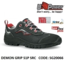 Scarpe Antinfortunistiche da Lavoro Basse Puntale in composito U-Power DEMON GRIP S1P SRC - SG20066 UPower SK GRIP