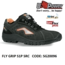 Scarpe Antinfortunistiche da Lavoro Basse Puntale in composito U-Power FLY GRIP S1P SRC - SG20096 UPower SK GRIP
