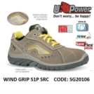 Scarpe Antinfortunistiche da Lavoro Basse Puntale in composito U-Power WIND GRIP S1P SRC - SG20106 UPower SK GRIP
