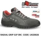 Scarpe Antinfortunistiche da Lavoro Basse Puntale in composito U-Power RADIAL GRIP S1P SRC - UK20026 UPower SK GRIP