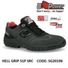 Scarpe Antinfortunistiche da Lavoro Basse Puntale in composito U-Power HELL GRIP S1P SRC - SG20196 UPower SK GRIP