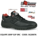 Scarpe Antinfortunistiche da Lavoro Basse Puntale in composito U-Power EQUIPE GRIP S1P SRC - SG20076 UPower SK GRIP
