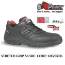 Scarpe Antinfortunistiche da Lavoro Basse Puntale in composito U-Power STRETCH GRIP S3 SRC - UK20706 UPower SK GRIP