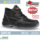 Scarpe Antinfortunistiche U-Power linea ENTRY modello SAFE UK S3 SRC UE10123 UPower