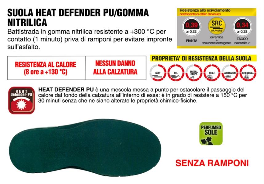 Scarpe Antinfortunistiche COFRA linea SPECIALS tipo polacco modello ASPHALT S2 P HRO HI SRA pelle stampata idrorepellente calzature per asfaltisti