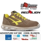 Scarpe Antinfortunistiche U-Power linea Red Lion modello ADVENTURE S1P SRC RL20076 UPower