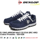 DUNLOP SCARPE ANTINFORTUNISTICA FLYING ARROW NAVY S3 EVA SRC HRO metal free 0201026
