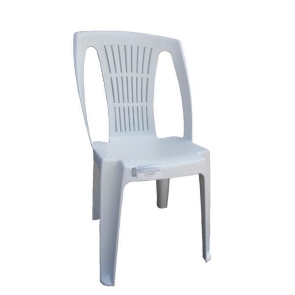 Sedie Plastica Senza Braccioli.Sedia In Plastica Giardino Senza Braccioli Colore Bianco Modello Stella