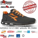 Scarpe Antinfortunistiche U-Power linea Red Lion modello KINDLE S3 CI SRC RL20404 UPower