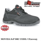 Scarpe Antinfortunistiche da Lavoro Basse Puntale e lamina Antiforo U-Power Classe S1P SRC - Movida - UE20025 UPower ENTRY
