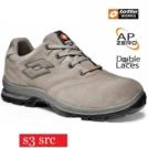 Scarpe antinfortunistiche LOTTO WORKS SPRINT 301 Q8359 S3 SRC colore Cobble sand
