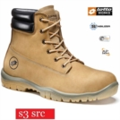 Scarpe antinfortunistiche LOTTO WORKS JUMP 950 HIGH R6987 S3 SRC alte impermeabili colore Tan sand