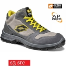 Scarpe antinfortunistiche LOTTO WORKS SPRINT II 850 MID R6993 S3 SRC alte impermeabili colore Iron Sand cobble