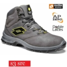 Scarpe antinfortunistiche LOTTO WORKS SPRINT 901 MID R7009 S3 SRC alte impermeabili colore Asphalt