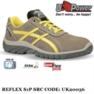 Scarpe Antinfortunistiche da Lavoro Basse Puntale in composito U-Power REFLEX S1P SRC - UK20036 UPower SK GRIP