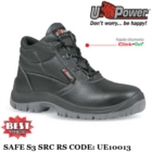 Scarpe Antinfortunistiche da Lavoro Alte Puntale e lamina Antiforo U-Power Classe S3 RS SRC - Safe - UE10013 UPower ENTRY