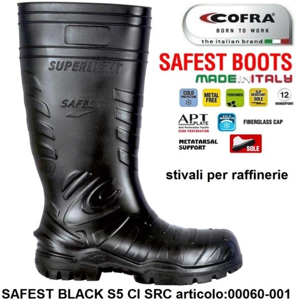 qualità autentica sconto autentica di fabbrica Stivale Antinfortunistica COFRA linea SAFEST BOOTS modello SAFEST ...