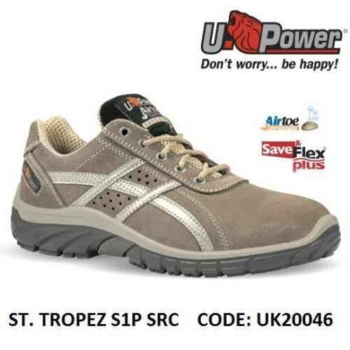 best sneakers ebc21 5910d Scarpe Antinfortunistiche da Lavoro Basse Puntale in composito U-Power ST.  TROPEZ S1P SRC - UK20036 UPower SK GRIP
