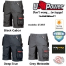 Linea U-SUPREMACY Pantaloncini da lavoro shorts U-Power START BERMUDA inserti reflex UPOWER