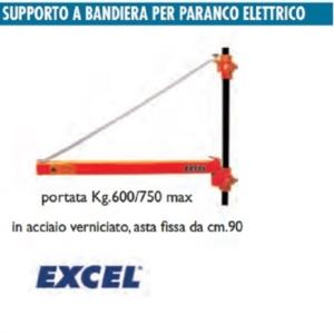 Supporto a bandiera per paranco elettrico excel for Bandiera per paranco elettrico