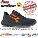 Scarpe Antinfortunistiche da Lavoro U-Power TAURUS S3 SRC ESD RU20114 UPower Red Up