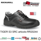 Scarpe Antinfortunistiche da Lavoro U-Power TIGER S3 SRC metal free, UPower ROCK & ROLL
