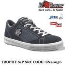 Scarpe Antinfortunistiche da Lavoro Basse Puntale in alluminio U-Power Classe S1P SRC - Trophy - SN20056 UPower THE ROAR...