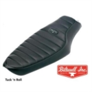 SELLA BANANA BILTWELL con cuciture Tuck'n Roll PER SPORTSTER 751724