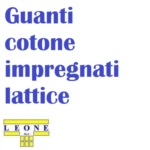 | Antinfortunistica Guanti | Guanti cotone impregnati lattice